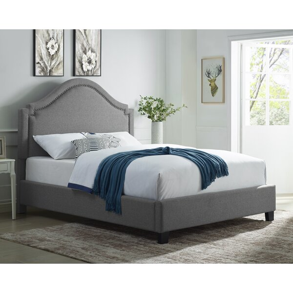 Smither Upholstered Standard Bed by Alcott Hill