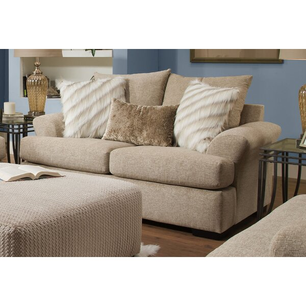 Lucious Loveseat by Darby Home Co