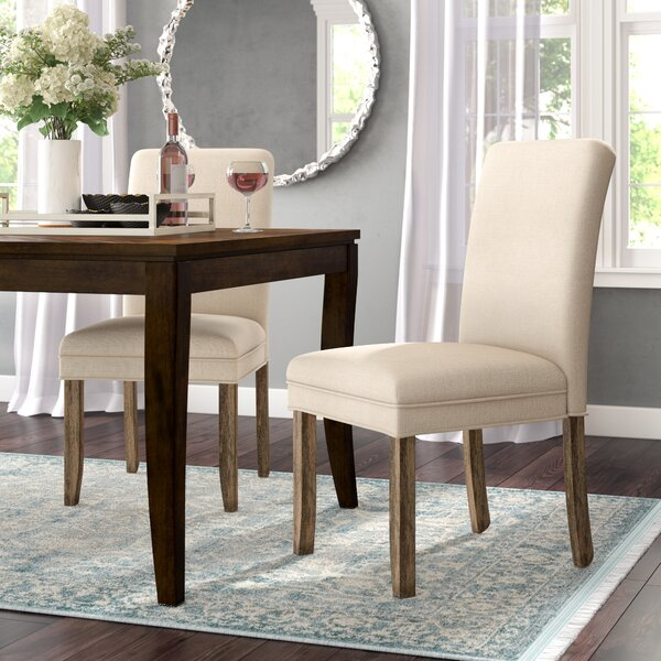 Romeo Upholstered Dining Chairs (Set of 2) by Willa Arlo Interiors