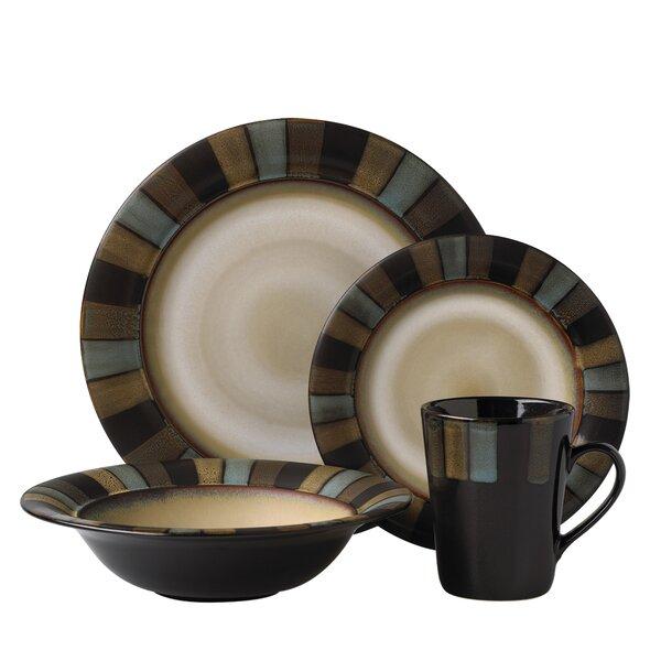 Cayman 16 Piece Dinnerware Set, Service for 4 by Pfaltzgraff Everyday