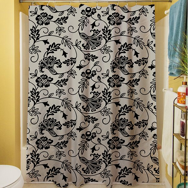 Sultry Blues Shower Curtain by Manual Woodworkers & Weavers