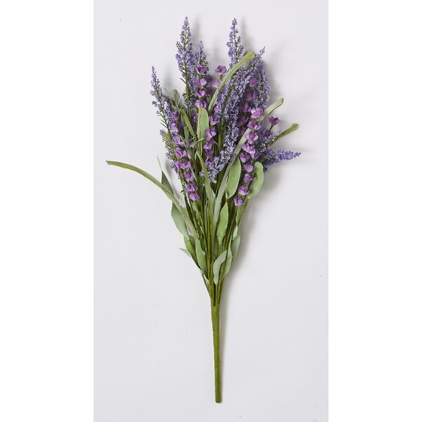 Lavender Flower Bush Branch by Ophelia & Co.
