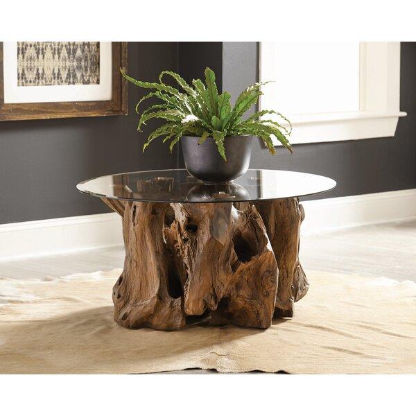 Loon Peak Glass Top Coffee Tables