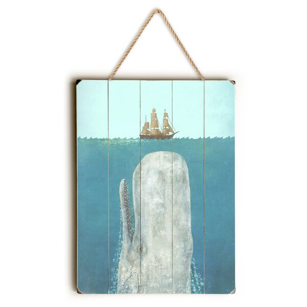 The Whale Graphic Art by Breakwater Bay