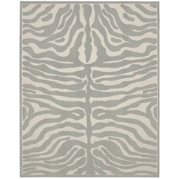 Safari Silver/Ivory Area Rug by Garland Rug