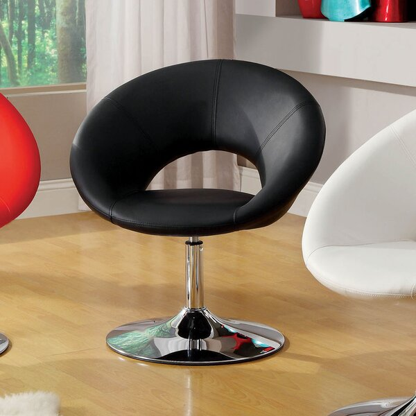 Contemporary Swivel Papsan Chair by Hokku Designs