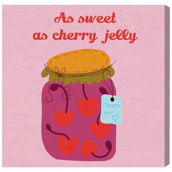 Abby Sweet Cherry Canvas Art by Zoomie Kids