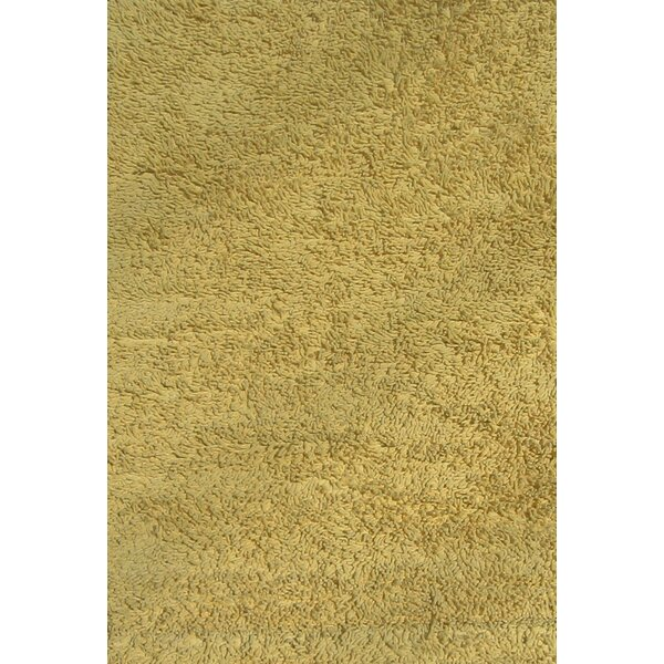 Yellow Shag Kids Rug by Fun Rugs