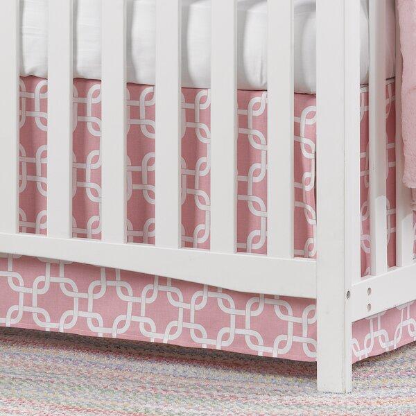 Metro Crib Skirt by Liz and Roo Fine Baby Bedding