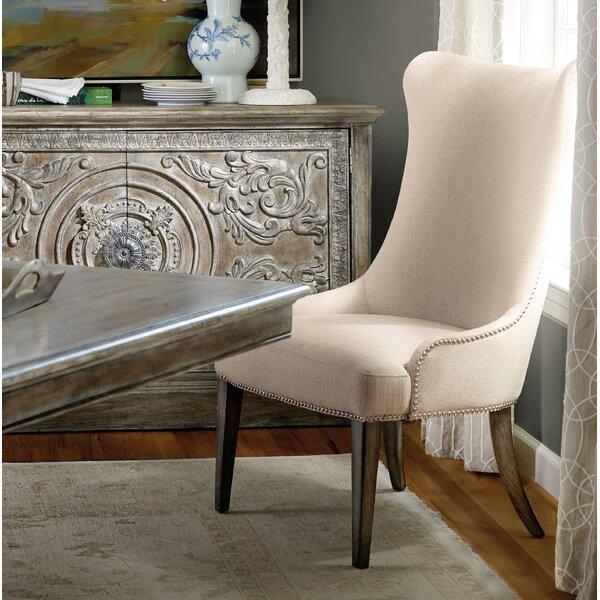 True Vintage Upholstered Dining Chair (Set of 2) by Hooker Furniture Hooker Furniture
