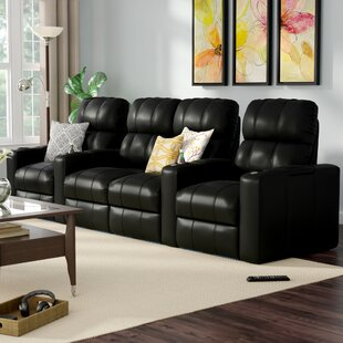 Home Theater Loveseat (Row of 4) Red Barrel Studio