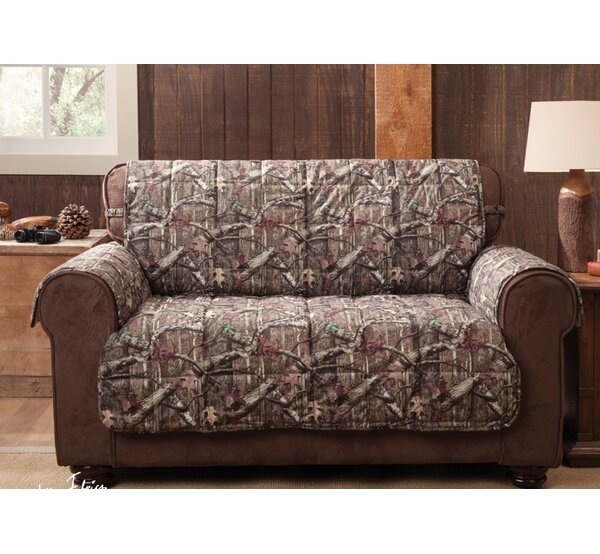 Breakup Infinity Box Cushion Loveseat Slipcover by Mossy Oak