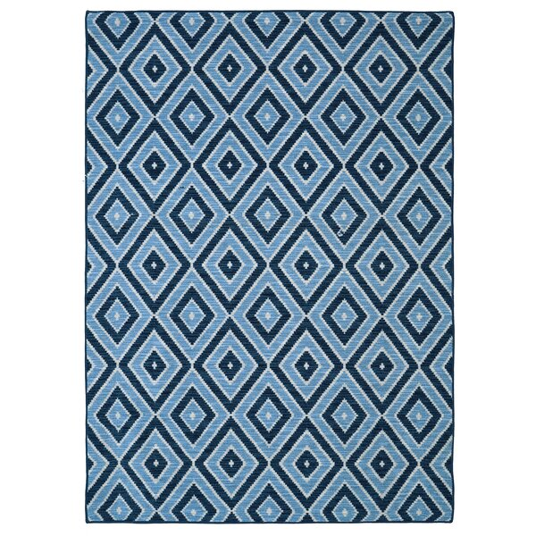 Solomon Blue Area Rug by Brayden Studio