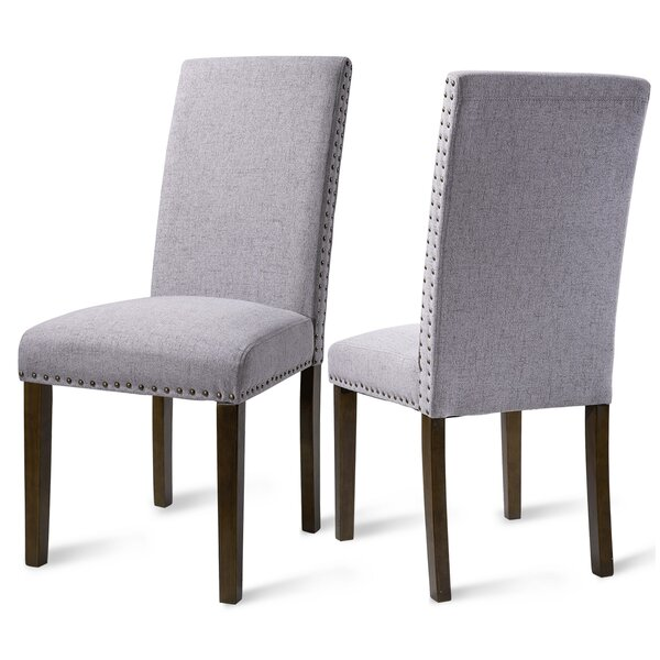 Croton Upholstered Parsons Chair (Set Of 2) By Red Barrel Studio®