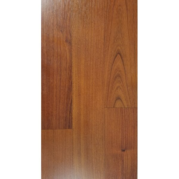 4.86 x 47.24 x 10mm Cherry Laminate Flooring in Brown by Abolos