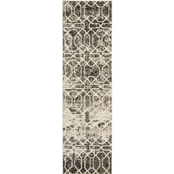 Floria Ivory/Black Area Rug by Williston Forge