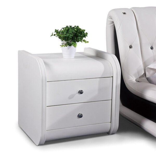 Luanne 2 Drawer Nightstand By Orren Ellis Today Only Sale
