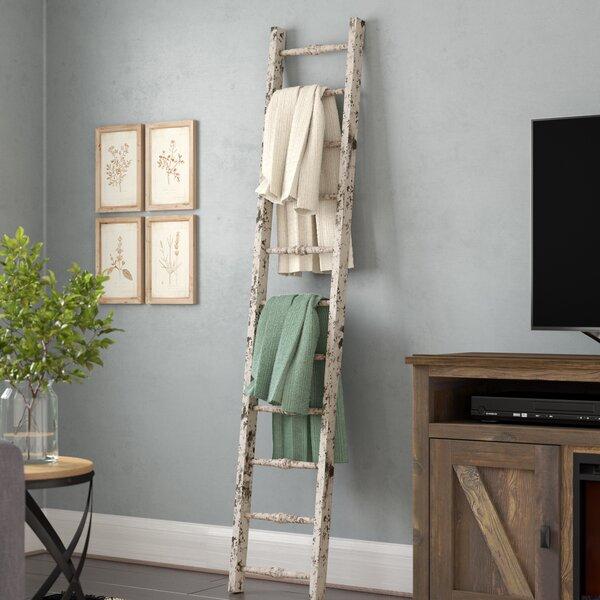 Wood 5.5 ft Decorative Ladder by Laurel Foundry Modern Farmhouse