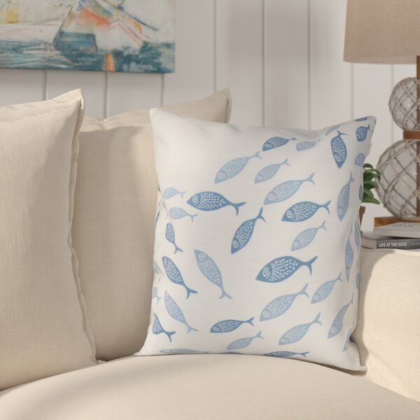 Golden Lakes Throw Pillow by Beachcrest Home