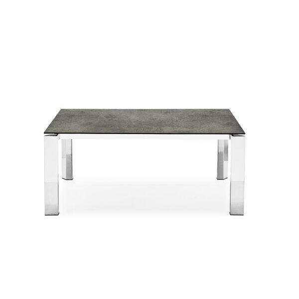 Meacham Ceramic Top Extendable Dining Table by Orren Ellis