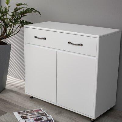 Latitude Run Az 35 Wide 1 Drawer Sideboard  Color: White