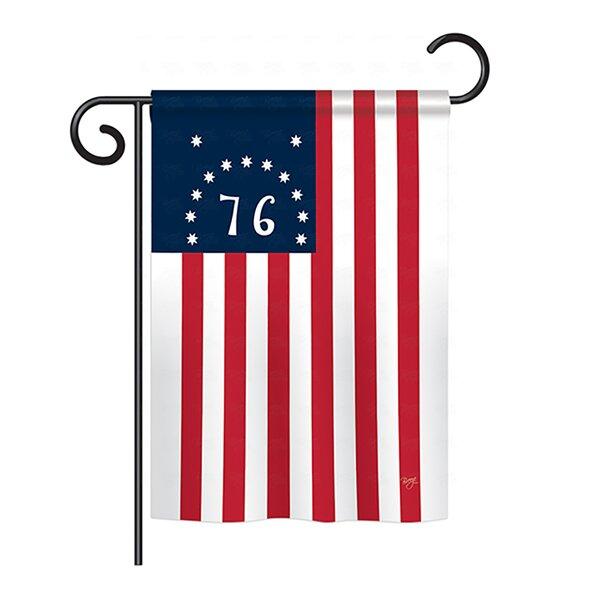 Bennington 2-Sided Vertical Flag by Breeze Decor
