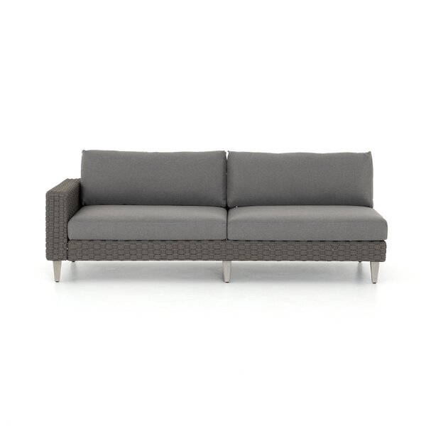 Franko Outdoor Left Hand Facing Sectional Sofa by Bungalow Rose