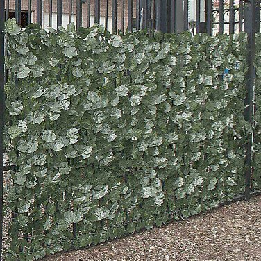3.5 ft. x 8 ft. Artificial Ivy Leaf Privacy Fence (Set of 4) by ALEKO