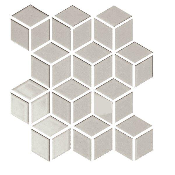 Shape 2 x 2 Porcelain Mosaic Tile in Brown by Emser Tile