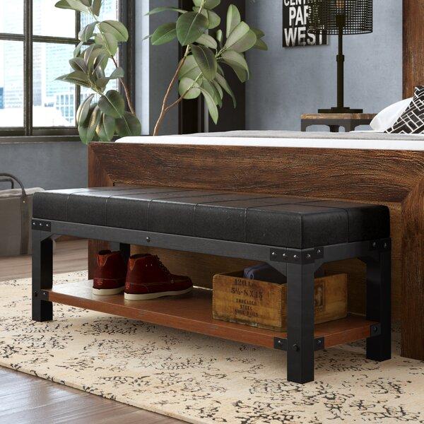 Caseareo Metal Storage Bench by Trent Austin Design