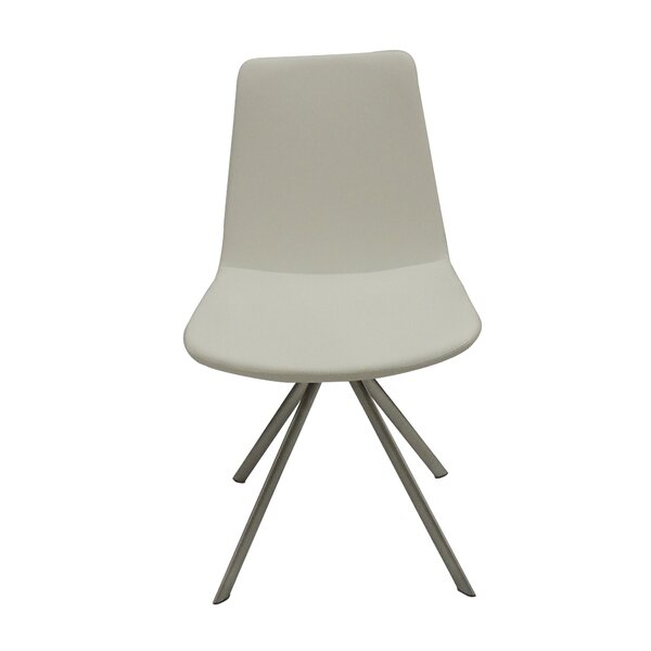 Fechteler Leather Guest Chair by Ivy Bronx Ivy Bronx