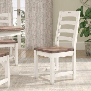 Fallston Solid Wood Dining Chair by Gracie Oaks Read Reviews