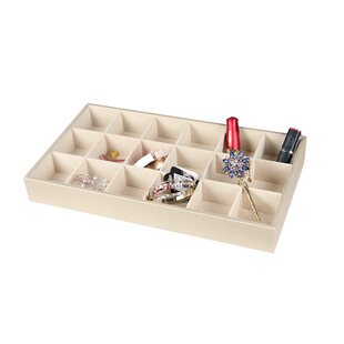 Affordable 18 Compartment Accessory Tray By Home Basics