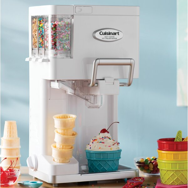 Mix It In Soft Serve 1 5 Qt Ice Cream Maker By Cuisinart.