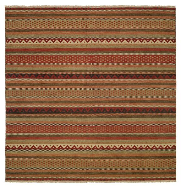 Queensland Brown/Red Area Rug by Wildon Home ®