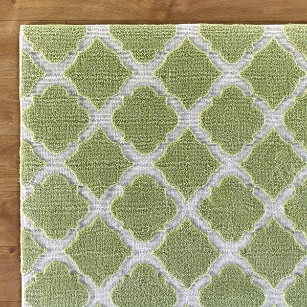 Lattice Play Green Rug by Birch Lane Kids™