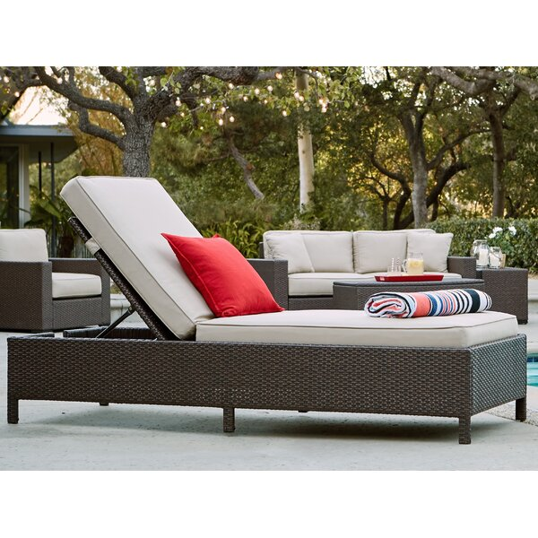 Laguna Outdoor Storage Chaise Lounge by Serta at Home