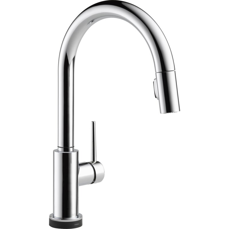 Trinsic Pull Down Touch Single Handle Kitchen Faucet With MagnaTite®  Docking And Touch2O® Technology
