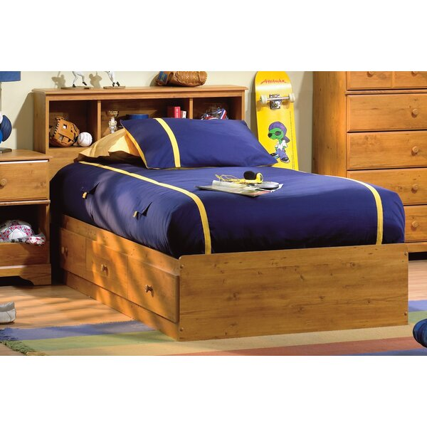 Little Treasures Mates and Captains Twin Bed with Drawers and Bookcase by South Shore