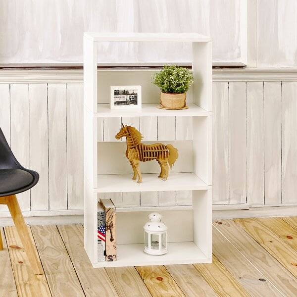 Andrade Triplet Standard Bookcase by Wrought Studio