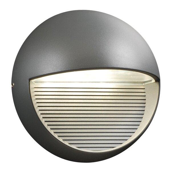Thames 3-Light Outdoor Flush Mount by Ebern Designs