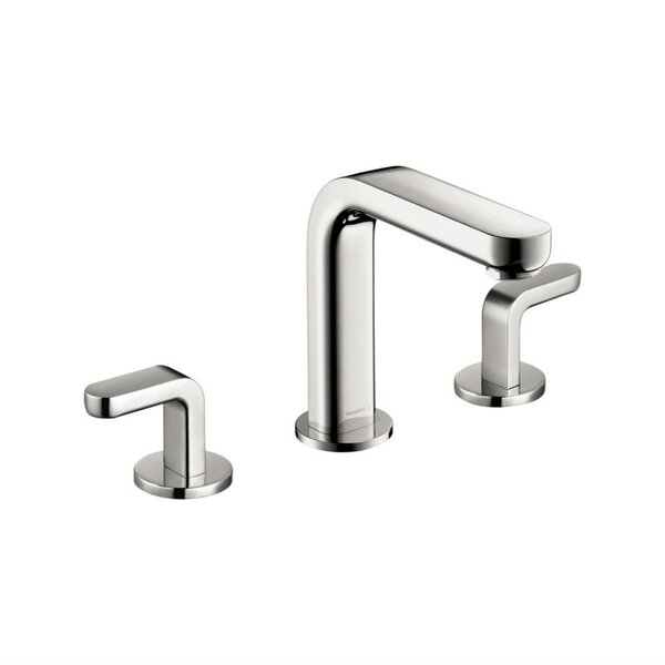 Metris S Two Handles Widespread Standard Bathroom Faucet by Hansgrohe