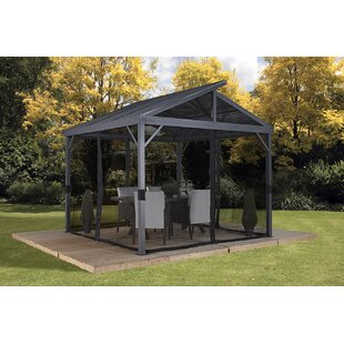 Gentil Sanibel II Aluminum Patio Gazebo