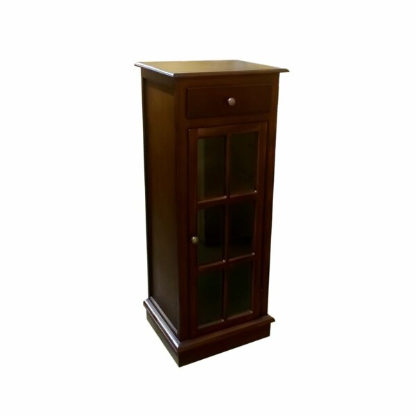 Egremt Mahogany China Cabinet by Alcott Hill