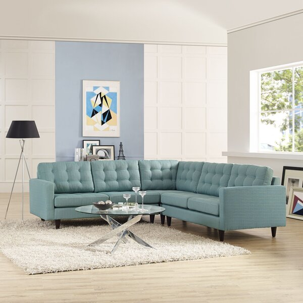 Antonia Sectional by Modern Rustic Interiors