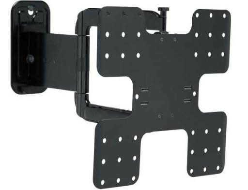 Super Slim Full-Motion Swivel/Extending Arm Wall Mount for 32-50 Flat Panel Screens by Sanus