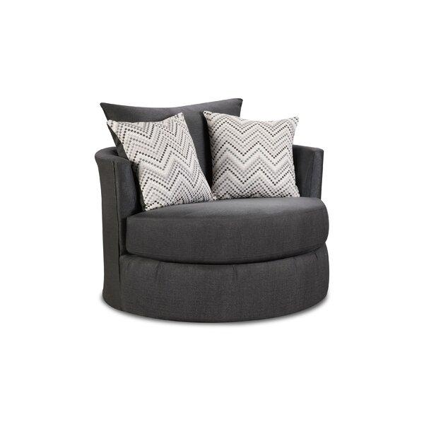 Michaelis Swivel Barrel Chair by Orren Ellis
