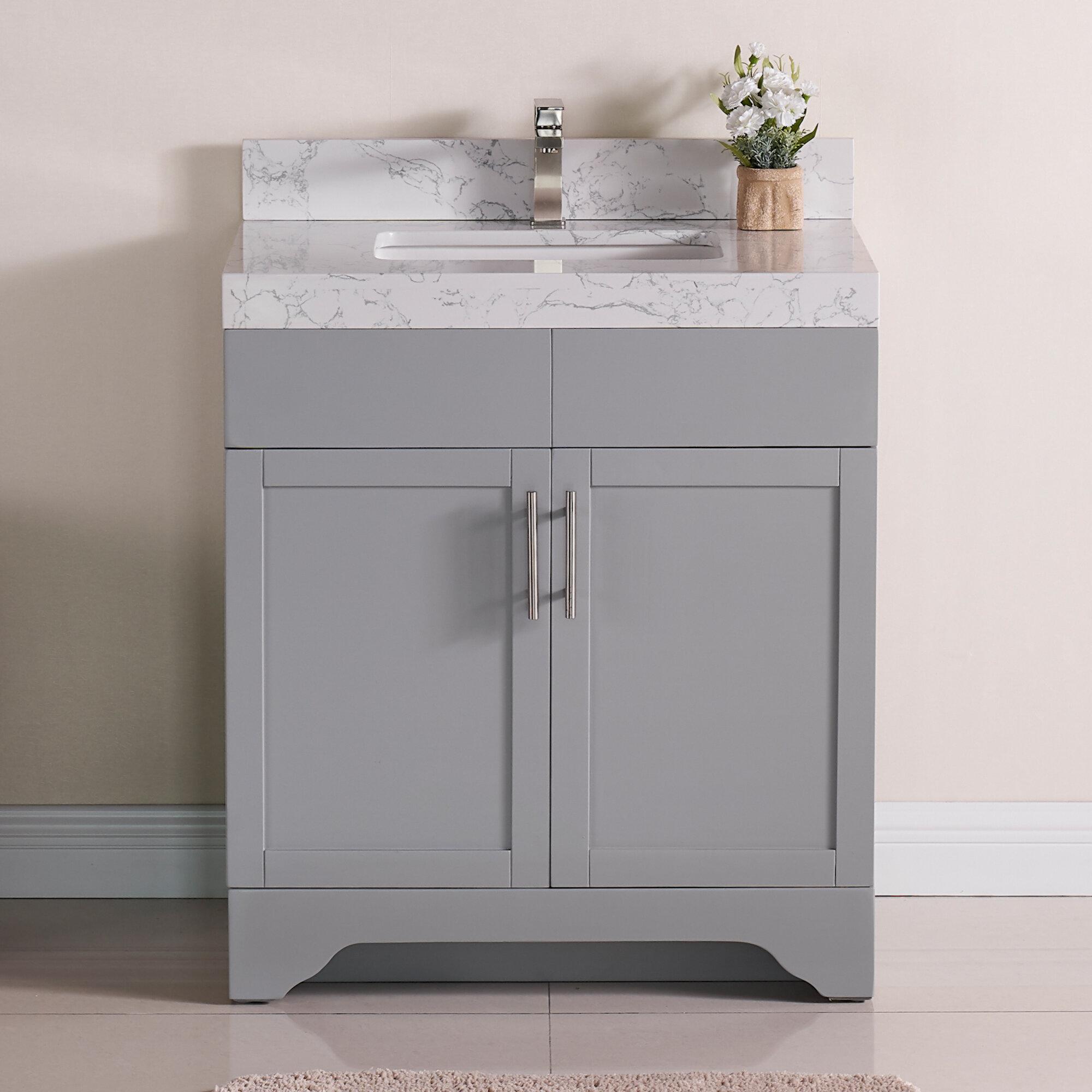 Modern Contemporary Wrought Studio Bathroom Vanities You Ll Love In 2021 Wayfair