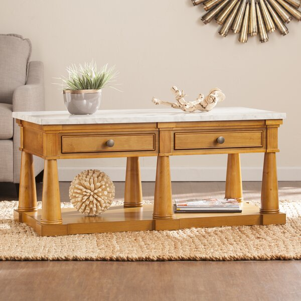 Skylar Coffee Table by August Grove