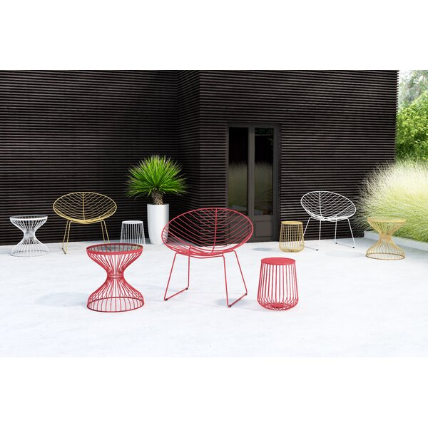 Hyde Patio Chair (Set of 2) by Bungalow Rose Bungalow Rose